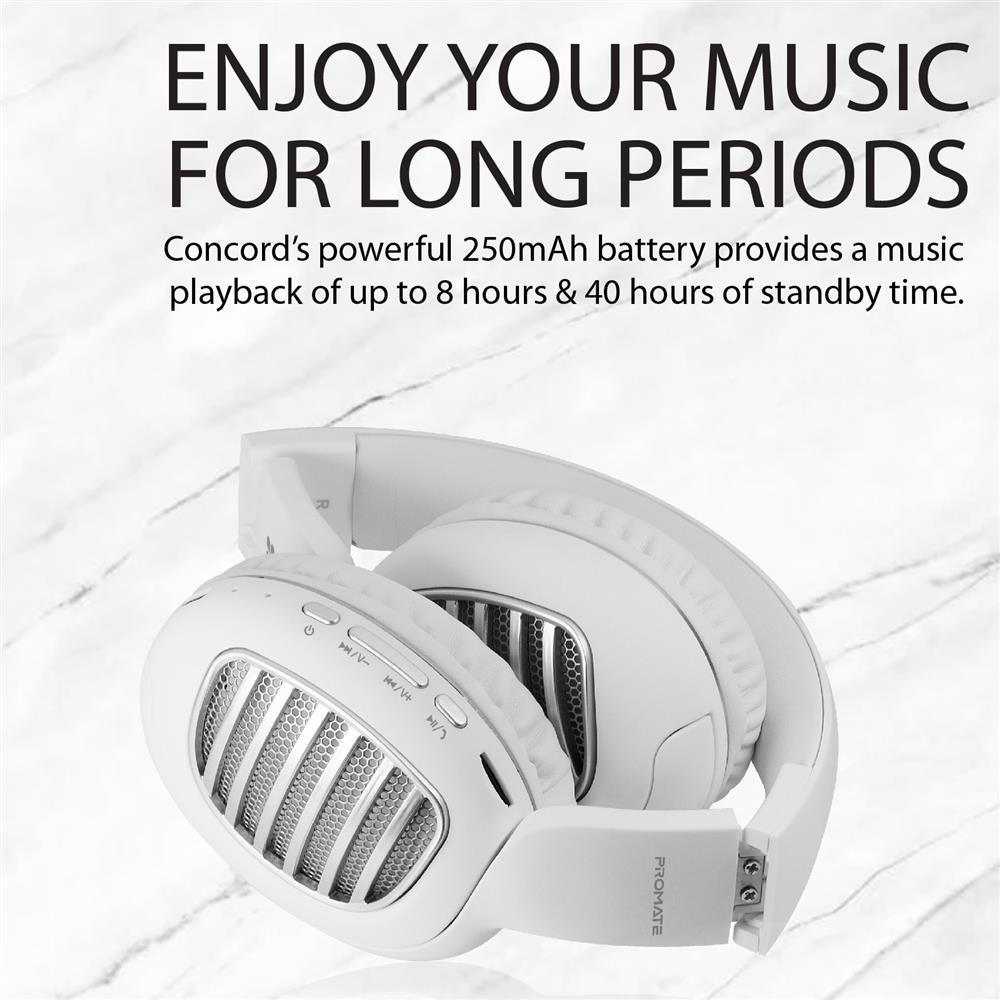 Promate CONCORD, Bluetooth Headphones