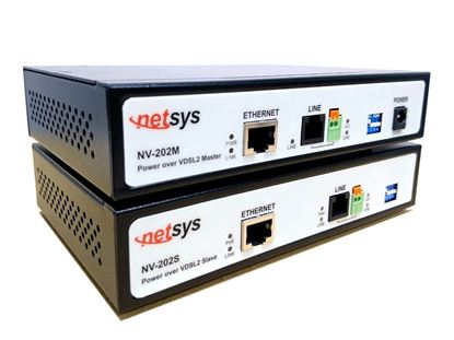 Picture of NETSYS Power Over LAN Extender Supplies Data & Power upto 15W PoE