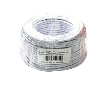 Picture of DYNAMIX 50m Cat6 Beige UTP STRANDED