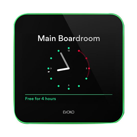 """Picture of EVOKO Liso Room Manager. 8"""" Display . Calendar services support for"""