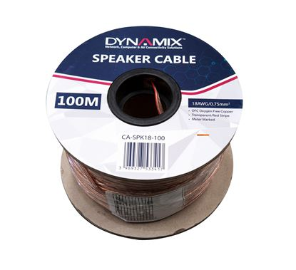 Picture of DYNAMIX 100m 18AWG Speaker Cable