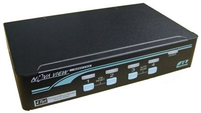 Picture of REXTRON 1-4 PS/2 VGA KVM Switch.