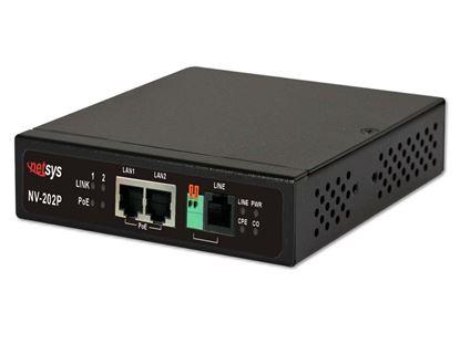 Picture of NETSYS VDSL2 PoE LAN Extender.