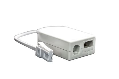 Picture of DYNAMIX VDSL/ ADSL2+ Telephone Splitter and In-line Filter. RETAIL