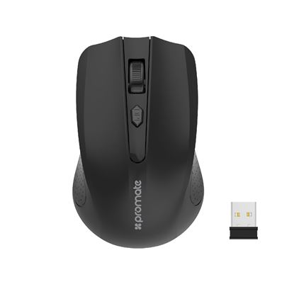 Picture of PROMATE Ergonomic Wireless Mouse 2.4GHz wirelss technology
