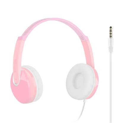 Picture of PROMATE Kids Over-The-Ear wired Stereo headset with HD sound.
