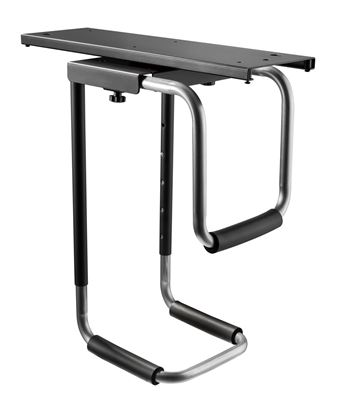 Picture of BRATECK Heavy-Duty Under Desk PC Holder. 360° Rotation. Easy