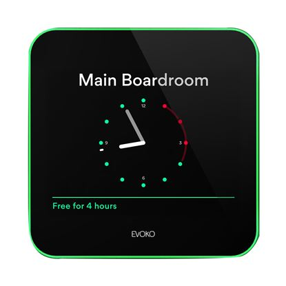 "Picture of EVOKO Liso Room Manager. 8"" Display . Calendar services support for"