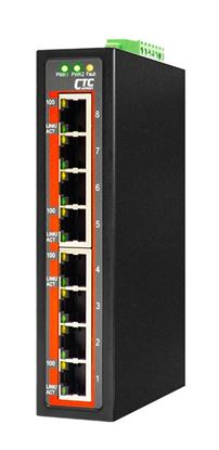 Picture of CTC UNION 8 Port Fast Ethernet Unmanaged Switch. -40C~+75C.