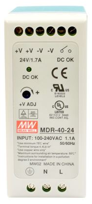 Picture of CTC UNION 40W Industrial Power Supply. -20C~70C. Input 85V~