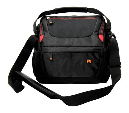 Picture of PROMATE Trendy SLR Camera Shoulder Bag with Front and Side Mesh Pocket