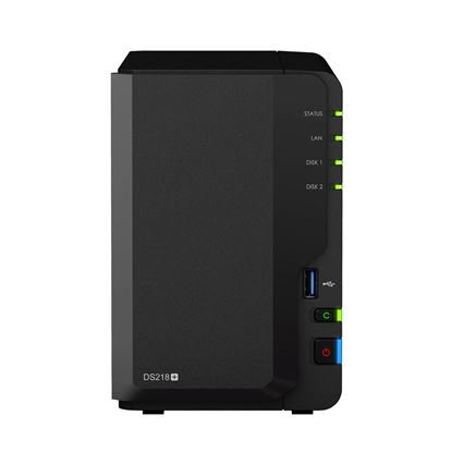 Picture of SYNOLOGY DS218+ 2-Bay Bare Bone NAS, Dual Core Celeron J3355