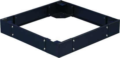 Picture of DYNAMIX SR Series Cabinet Plinth. 100mm high. Suites 800 x 1200mm