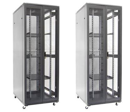 Picture of DYNAMIX 42RU Server Cabinet 1000mm Deep (800 x 1000 x 2100mm). FLAT