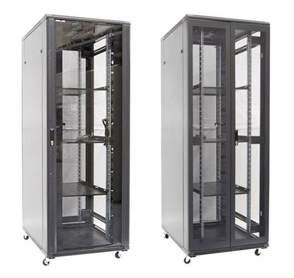 Picture of DYNAMIX 42RU Server Cabinet 900mm Deep (800 x 900 x 2055mm). Incl. 3x