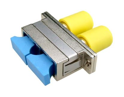 Picture of DYNAMIX Fibre SC to ST Duplex, Single-mode Joiner, Ceramic sleeve,