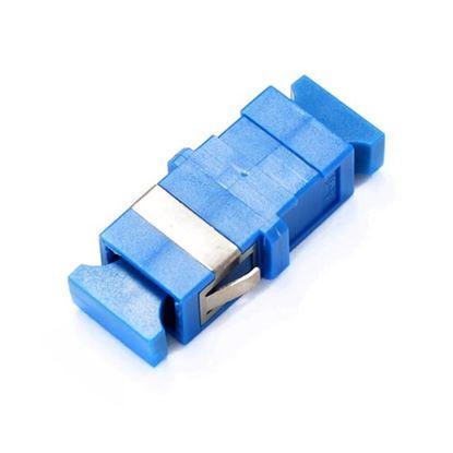 Picture of DYNAMIX Flangeless Fibre SC/SC Simplex Single-mode Joiner,