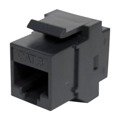 Picture of DYNAMIX Cat3 Rated RJ45 8C Joiner, 2-Way (2x RJ45 Sockets)