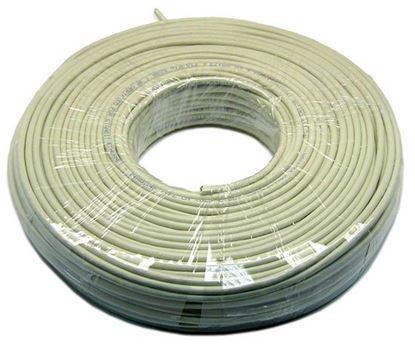 Picture of DYNAMIX 100m Cat5e Ivory UTP SOLID Cable Roll 100MHz, 24AWGx4P, PVC