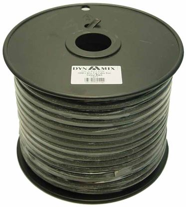 Picture of DYNAMIX 100m Roll 6-Wire Flat Cable , Black colour
