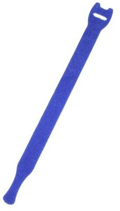 Picture of DYNAMIX Hook & Loop Cable Tie, 200mm x 13mm, BLUE Colour
