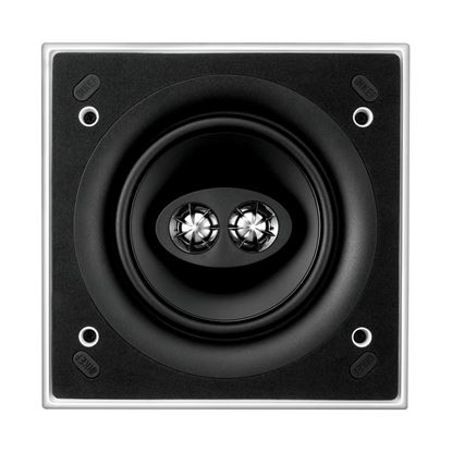 Picture of KEF Ultra Thin Bezel 6.5' Dual Stereo Square In-Ceiling Speaker.