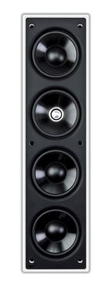 "Picture of KEF THX Rectangle In Wall Speaker with 3x 4"" (LF), 1x 4"" (MF), 1x"