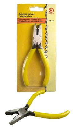 Picture of HANLONG Telecom Splice Crimp Tool UR, UY, UG connectors.