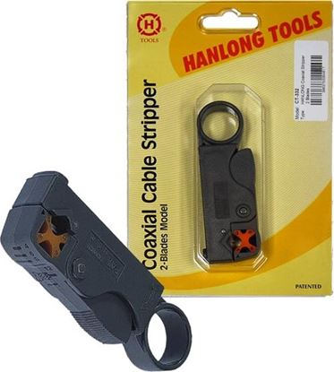 Picture of HANLONG Coaxial Stripper 2x Blades RG58/59/62/6