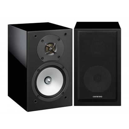 Picture of ONKYO 2-Way Bass Reflex Speakers. 13cm N-OMF diaphragm woofer. 3cm