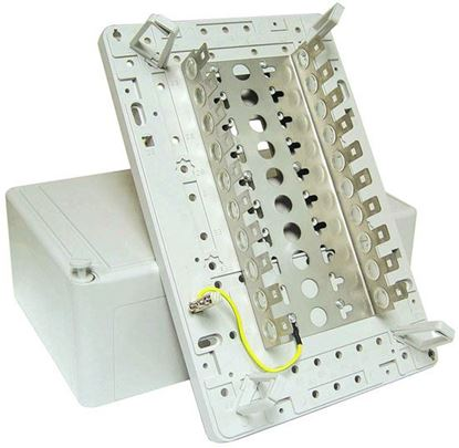 Picture of DYNAMIX 100 Pair Distribution Box (10 x 10 Position). Size: