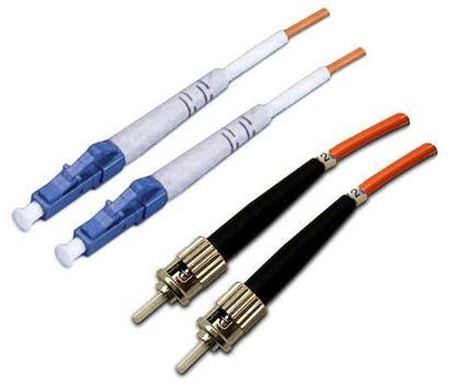 Picture of DYNAMIX 2M 62.5u LC/ST OM1 Fibre Lead (Duplex, Multimode)