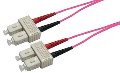 Picture of DYNAMIX 20M 50u SC/SC OM4 Fibre Lead (Duplex, Multimode)