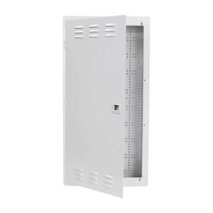 "Picture of DYNAMIX 28"" FTTH Network Enclosure Recessed Wall Mount with Vented Lid"