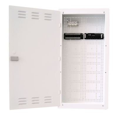 "Picture of DYNAMIX 28"" FTTH Wall Enclosure KIT Includes: 8x Port Data Module, 8x"