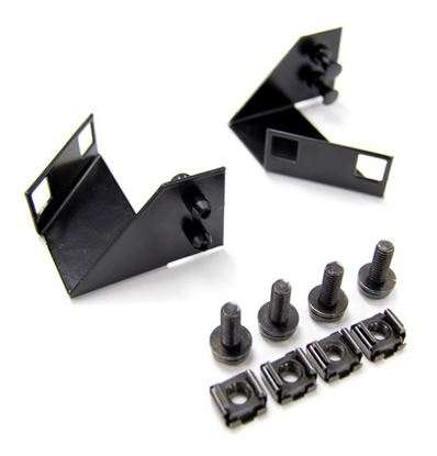 Picture of DYNAMIX Patch Panel Mounting Brackets for HWS series enclosures.