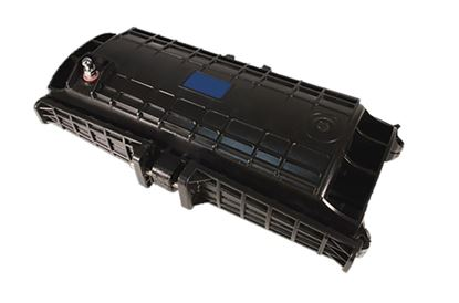 Picture of DYNAMIX Fibre Inline Enclosure. Holds up to 72x fibres. IP68.
