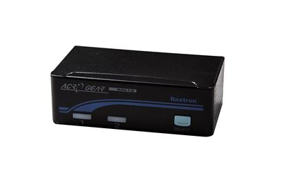 Picture of REXTRON 1-2 USB Automatic KVM Switch. Share 1x Keyboard/Video/