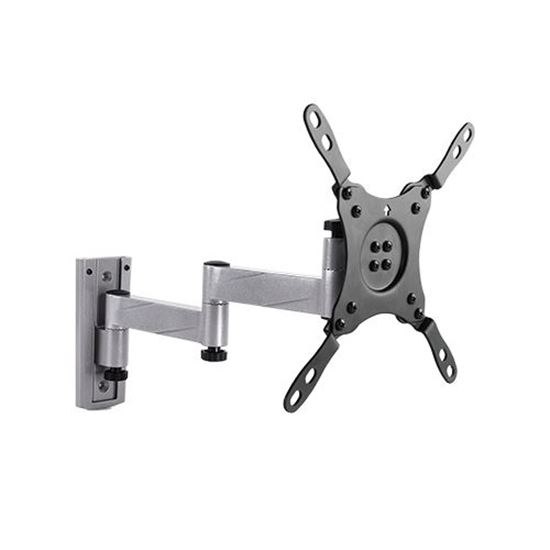 Picture of BRATECK 13-42' Articulating monitor wall mount bracket. Designed for