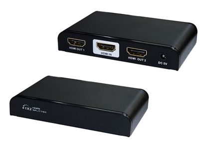 Picture of LENKENG 1 in 2 out, 4K2K HDMI Splitter. HDMI splitter & extender.
