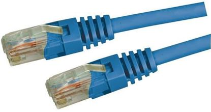 Picture of DYNAMIX 1m Cat5e Blue UTP Patch Lead (T568A Specification) 100MHz