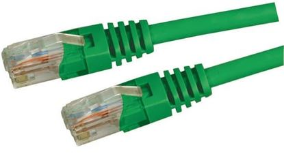 Picture of DYNAMIX 1m Cat5e Green UTP Patch Lead (T568A Specification) 100MHz