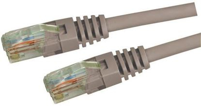Picture of DYNAMIX 1.5m Cat5e Grey UTP Patch Lead (T568A Specification) 100MHz