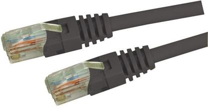 Picture of DYNAMIX 5m Cat5e Black UTP Patch Lead (T568A Specification) 100MHz