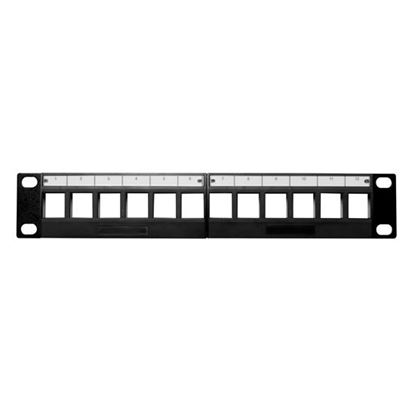 Picture of DYNAMIX 10' 12 Port Unloaded Keystone Panel