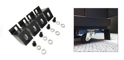 Picture of DYNAMIX Bolt Down Kit for 2' Castor Wheel. 4 pcs per pack.