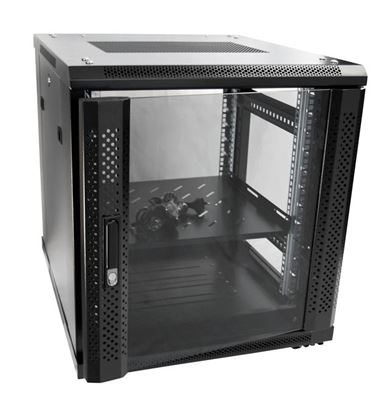 Picture of DYNAMIX 12RU Server Cabinet 700mm deep (600 x 700 x 743mm). Incl. 1x