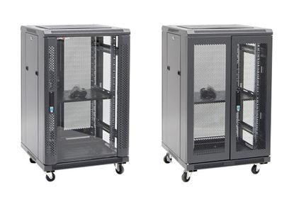 Picture of DYNAMIX 18RU Server Cabinet 600mm Deep (600 x 600 x1008mm). Incl. 1x