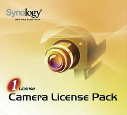 Picture of SYNOLOGY 1 Camera Licence Pack to install additional cameras.