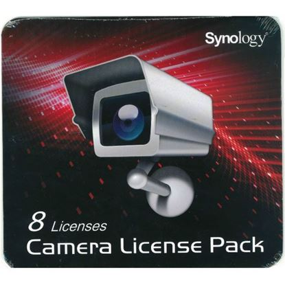 Picture of SYNOLOGY Camera Licence 8 pack For installing additional cameras